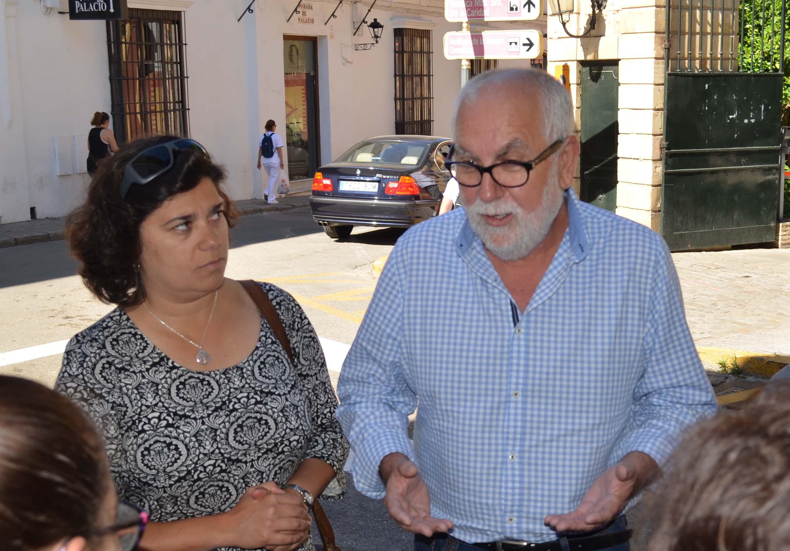 IU pide a Diputación colaboración presupuestaria para la mejora de infraestructuras en la Colonia Monte Algaida de Sanlúcar