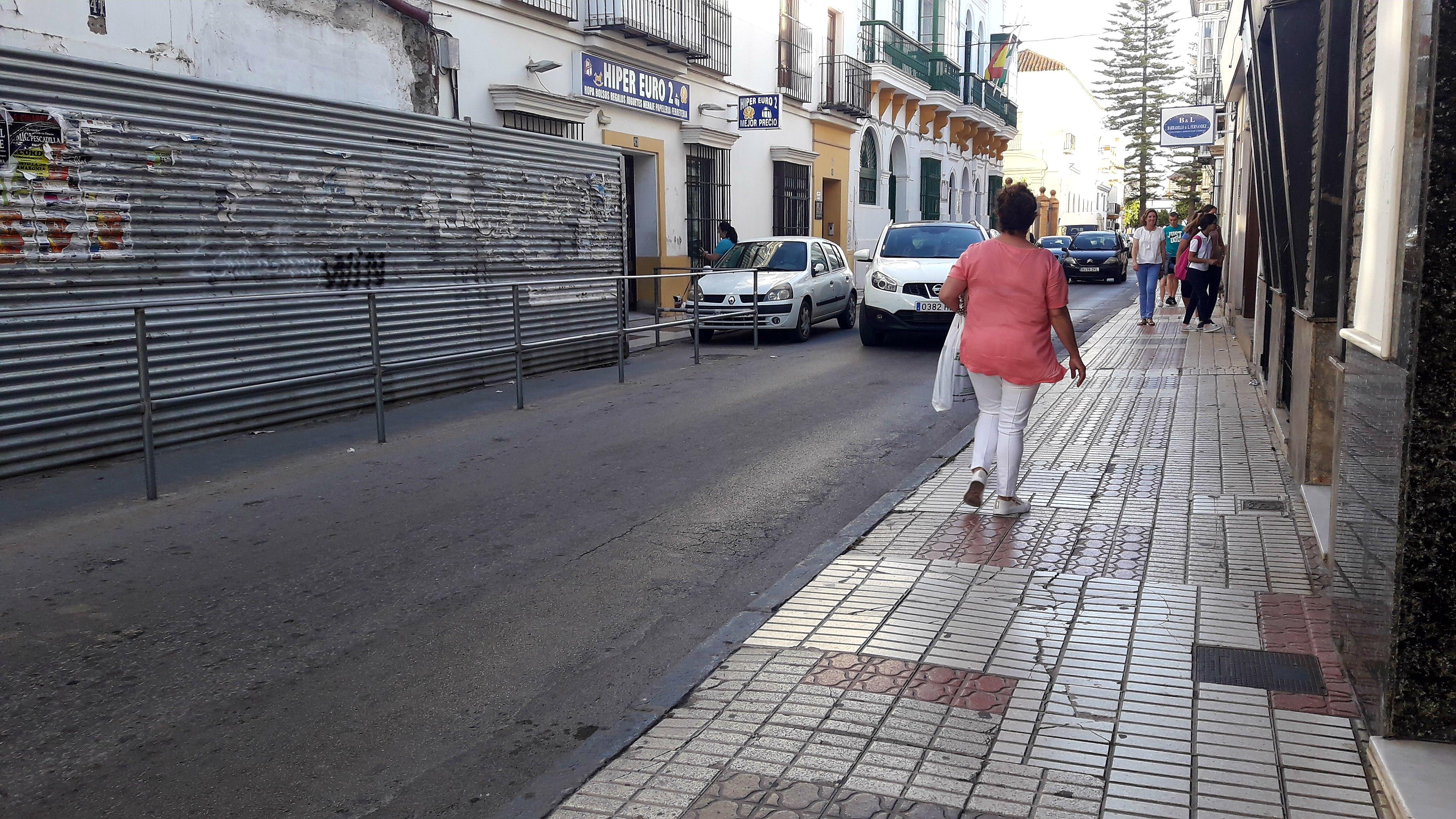 IU reclamará en el pleno mejoras para la calle San Juan y la plaza del Pradillo