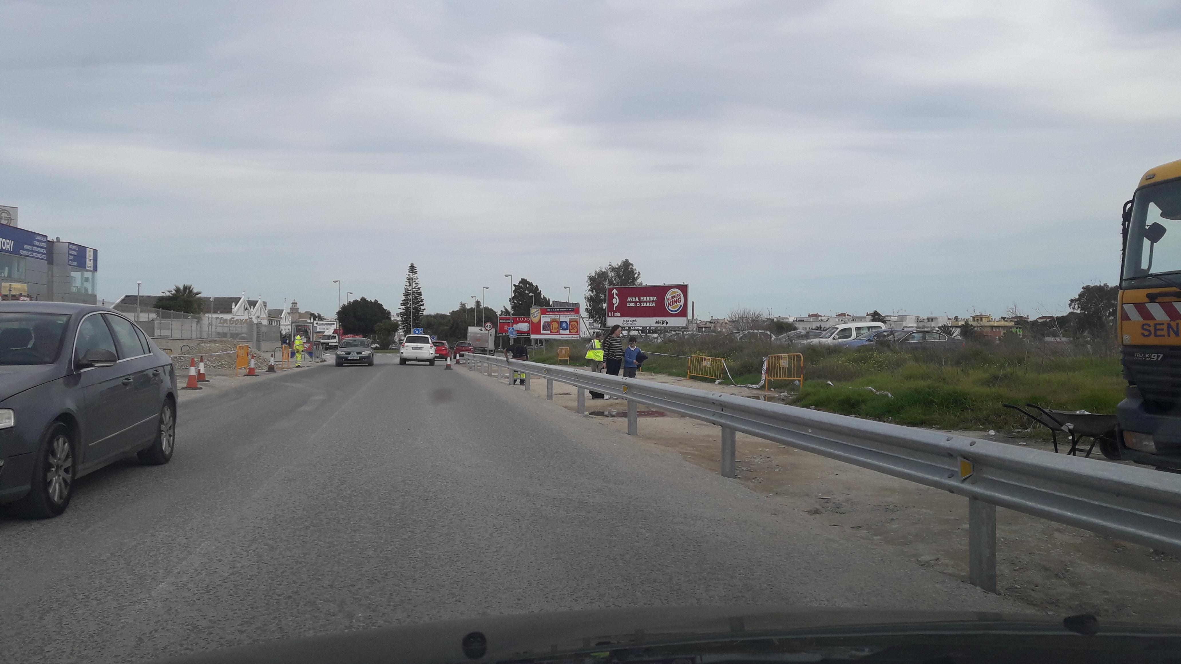 IU exigirá en Junta de Portavoces prioridad absoluta para las obras de la carretera Sanlúcar-Chipiona