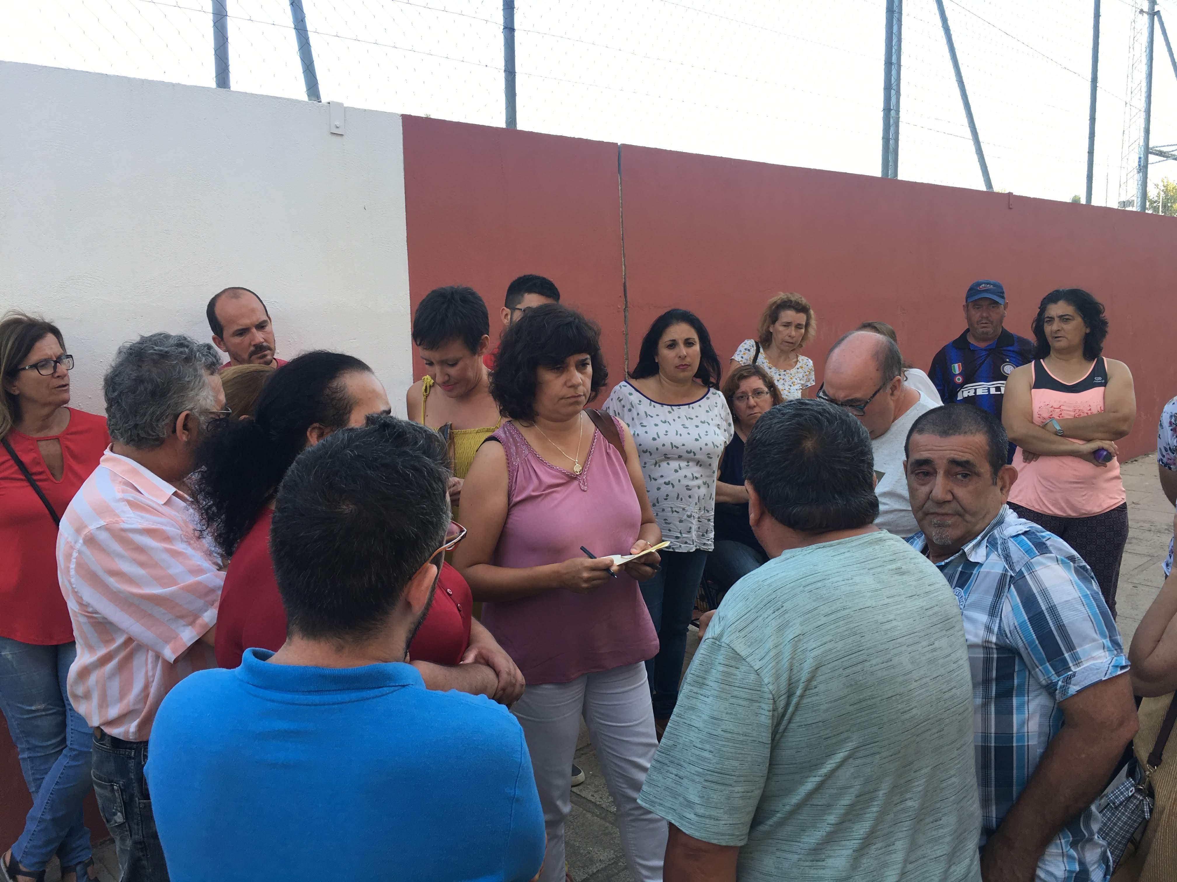 IU lamenta  el oportunismo electoral del PSOE en el arreglo de las viviendas públicas del edificio Azafache