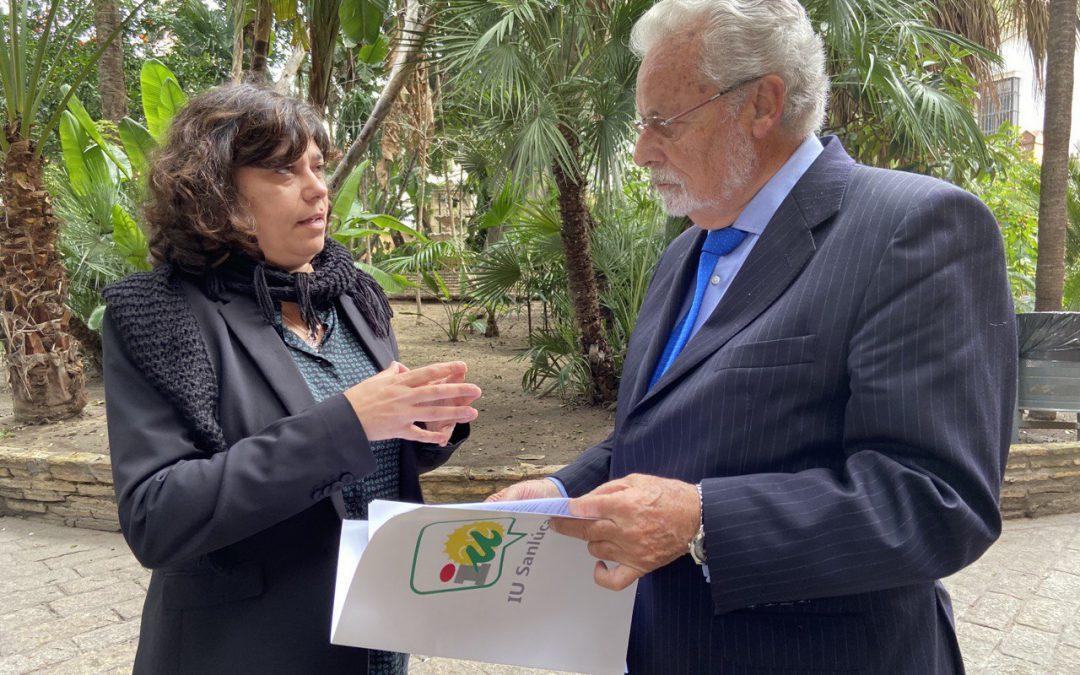 IU eleva al Defensor del Pueblo Andaluz la precaria situación social de Sanlúcar