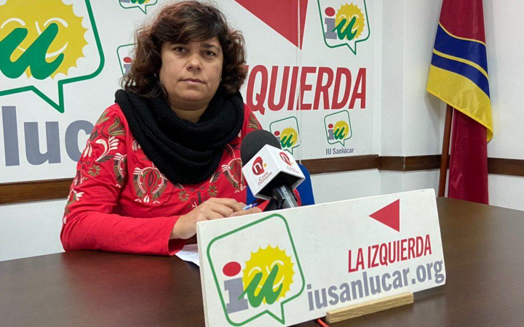 IU arremete contra el PP por las pretensiones de la Junta de eliminar la oficina liquidadora de Sanlúcar