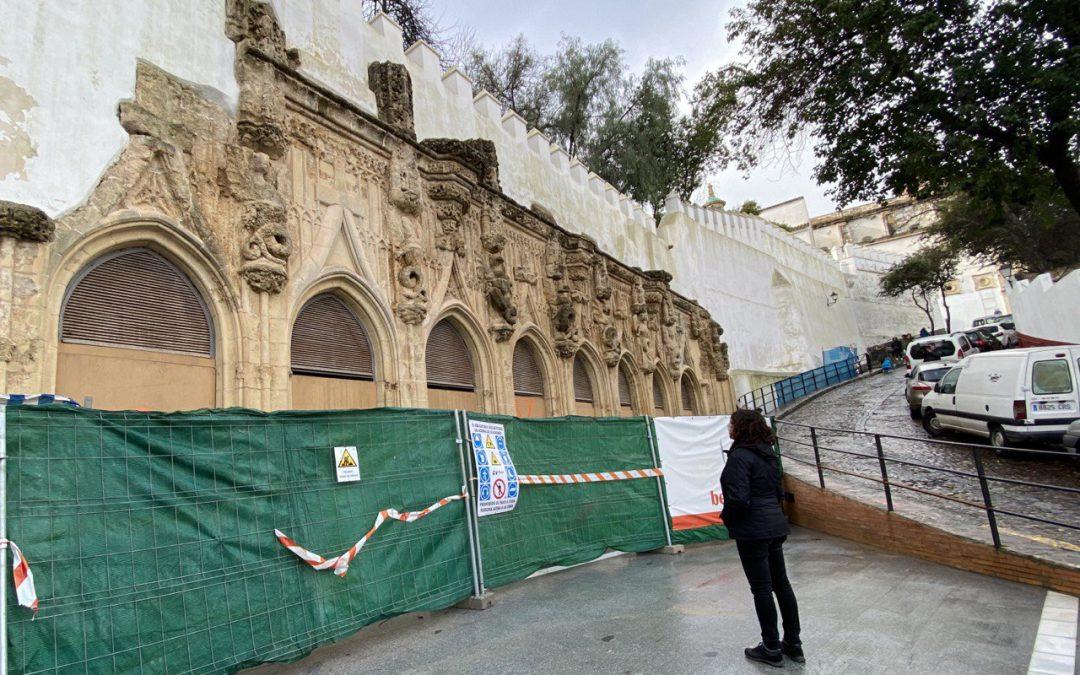 IU reclama una inspección a las obras de Las Covachas                                       con el arquitecto municipal
