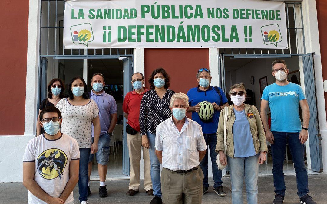 IU Sanlúcar anima a la ciudadanía a sumarse a las protestas en defensa de la sanidad pública