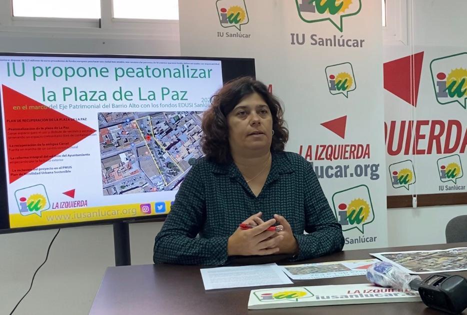 """""""Las propuestas de movilidad y peatonalización que ha presentado IU buscan hacer de Sanlúcar una ciudad más amable y sostenible"""""""