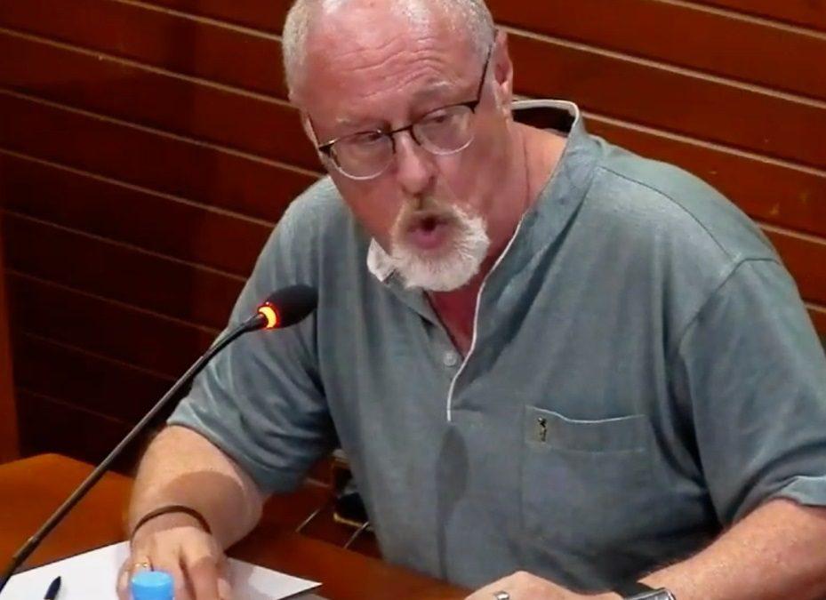 """Fernando Cabral: """"PSOE y Cs convierten un acto administrativo en mera propaganda partidista"""""""