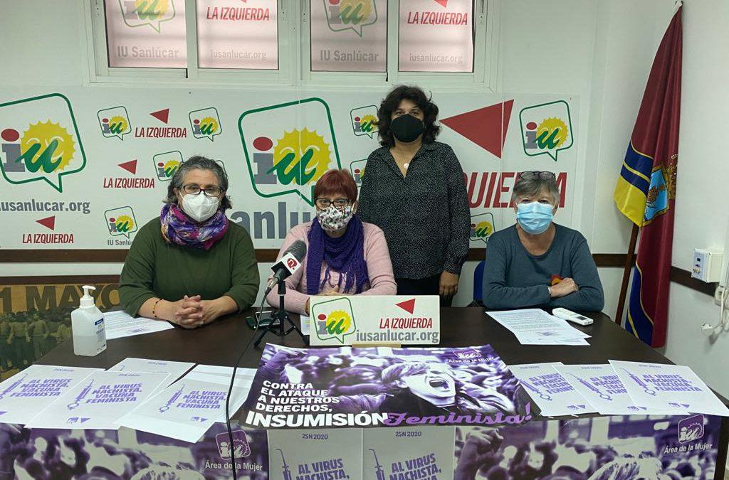 IU lamenta que el equipo de Gobierno no permita debatir sobre el 25N en el pleno de noviembre
