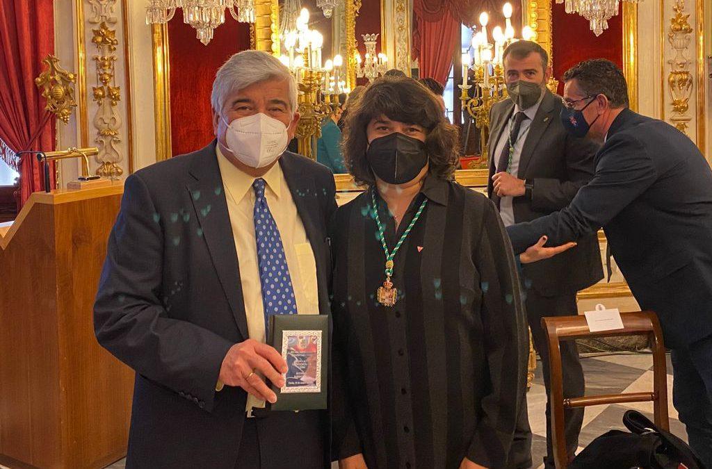 IU Sanlúcar felicita a Bodegas Barbadillo por la medalla recibida en el Día de la Provincia de Cádiz 2021