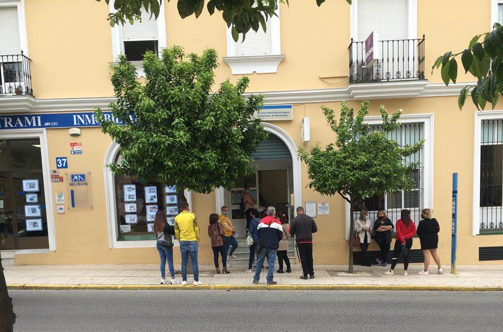 IU solicita información sobre el cierre de las oficinas de Aqualia en Bonanza
