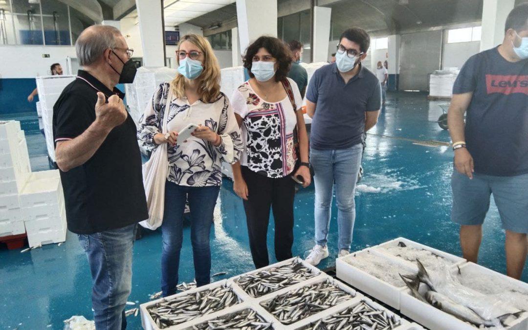"""Unidas Podemos se compromete a llevar al Parlamento Europeo """"la voz"""" del sector pesquero gaditano y el problema de normativa del arrastre"""